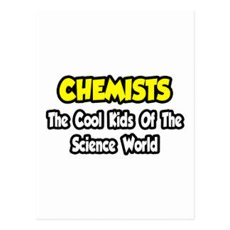 Niños frescos de los químicos… del mundo de la cie postal