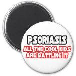 Niños frescos del psoriasis… imán para frigorífico