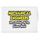 Niños frescos Mech de los ingenieros… del mundo de Tarjetón