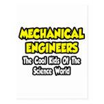Niños frescos Mech de los ingenieros… del mundo de Tarjeta Postal