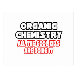 Niños frescos orgánicos de la química… postal