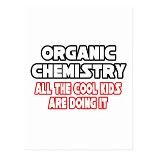 Niños frescos orgánicos de la química… postales