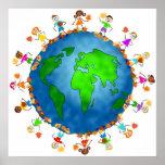 Niños globales de la caída poster