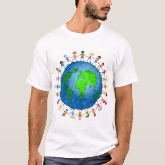 Niños globales playera