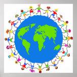 Niños globales póster