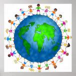 Niños globales poster