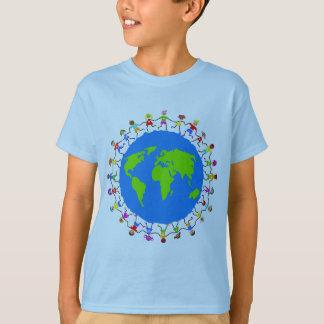 Niños globales remera