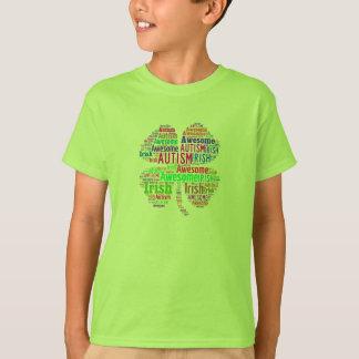Niños impresionantes de la camiseta del autismo
