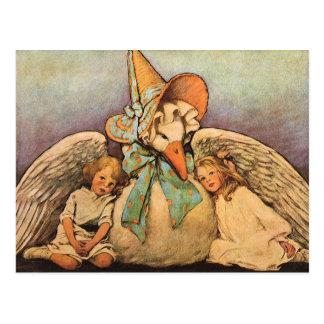 Niños Jessie Willcox Smith de la mamá ganso del Postales