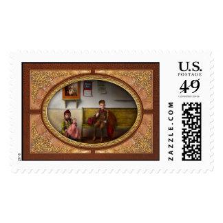 Niños - la vida es una aventura 1893 timbre postal