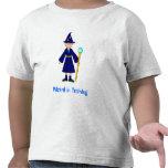 Niños lindos de Halloween -- Pequeño mago Camisetas