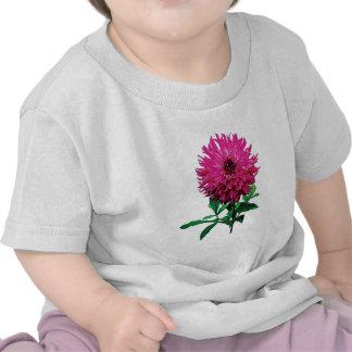 Niños magentas de Elsie Huston de la dalia Camiseta