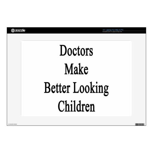 Niños más apuestos de los doctores Make Portátil Skins
