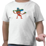 Niños mexicanos divertidos camisetas