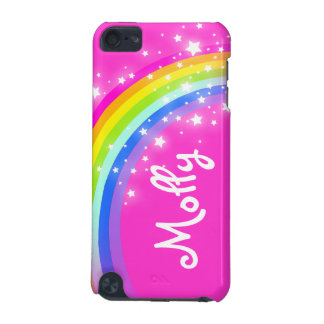 Niños nombrados caja de iPod del chica del rosa de Funda Para iPod Touch 5G
