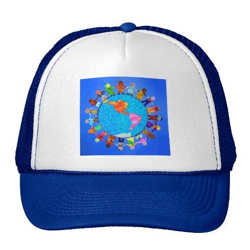 Niños pacíficos gorras de camionero