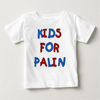 Niños para la camiseta del niño de Palin