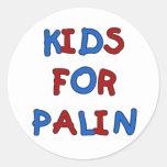 Niños para los pegatinas de Palin