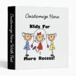 Niños para más hendidura