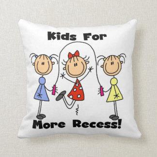 Niños para más hendidura cojines