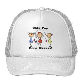 Niños para más hendidura gorras de camionero
