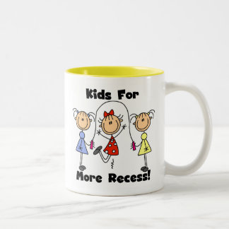 Niños para más hendidura taza