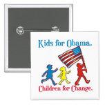 Niños para Obama Pin