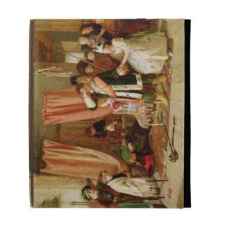 """Niños que actúan la """"escena del juego"""", acto II, e"""