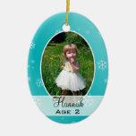 Niños que crecen, ornamento del navidad de la Mult Adornos De Navidad