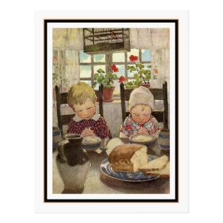 Niños que dicen tolerancia de Jessie Willcox Smith Tarjeta Postal