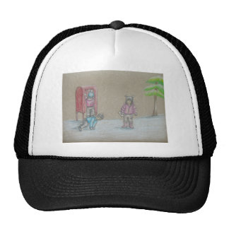 niños que envían la letra gorras