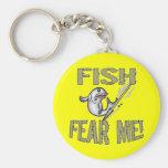 Niños que pescan las camisetas y niños que pescan  llaveros personalizados