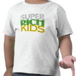 Niños ricos estupendos camisetas