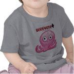 """Niños-T de DiveVets """"Octo"""" Camiseta"""