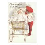 Niños y bebés, fiesta de bienvenida al bebé del invitación 12,7 x 17,8 cm