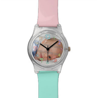 Niños y imagen del bebé relojes de mano