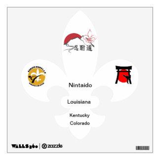 nintaido all state wall sticker