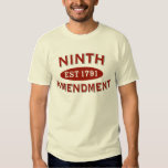 Ninth Amendment Est 1791 Tee Shirt