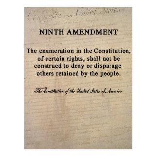 Ninth Amendment Postcards