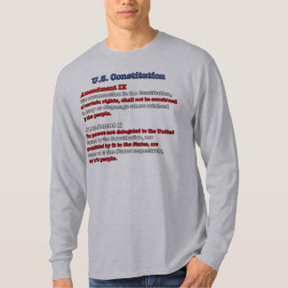 Ninth and Tenth Amendments T-Shirt
