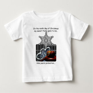 Ninth Day Redneck Christmas Baby T-Shirt