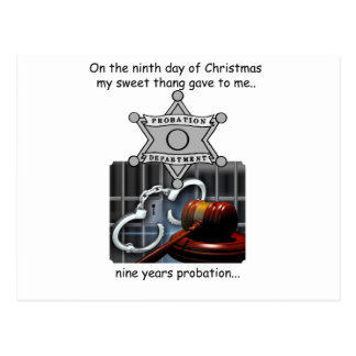 Ninth Day Redneck Christmas Postcard