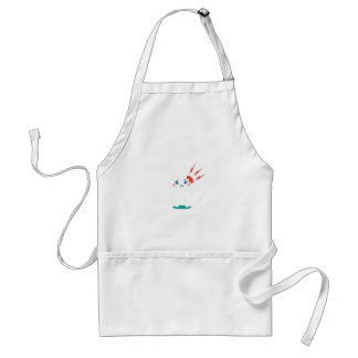 Ninth February - Toothache Day - Appreciation Day Adult Apron