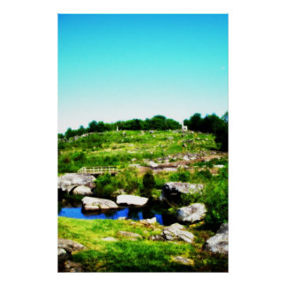 Ninth Hole on Little Round Top Poster