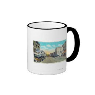 Ninth Street View of Willamette Street Mugs