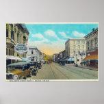 Ninth Street View of Willamette Street Print