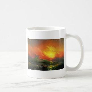 Ninth wave 涛 2 coffee mug