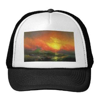 Ninth wave 涛 2 trucker hats