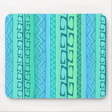 Beach Themed Nipa Hooks blue Mouse Pad