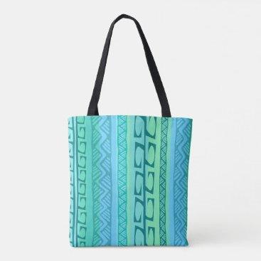Beach Themed Nipa Hooks blue Tote Bag